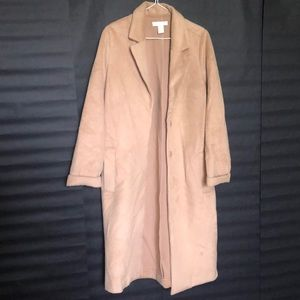 H&M camel winter coat